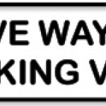 Give way to overtaking vehicles